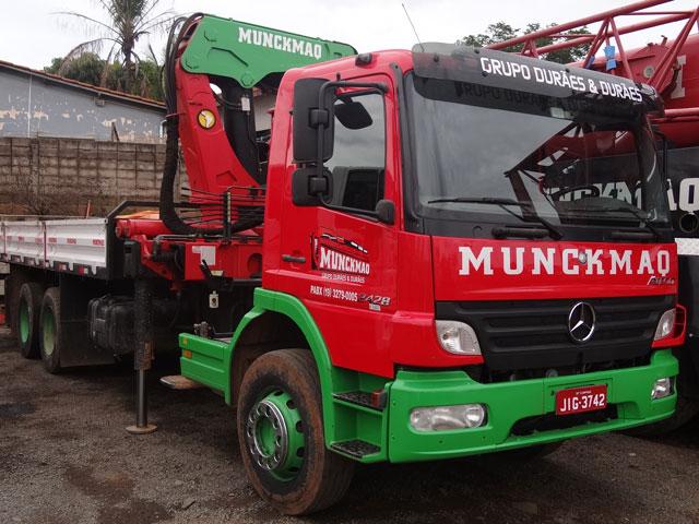 valor da hora de um caminhão munck